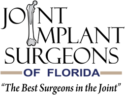 Small Joint Implant Surgeons of Florida logo with tagline Best Surgeons in the Joint