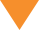 Orange arrow pointed down on transparent background