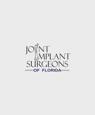 large grey box with Joint Implant Surgeons logo